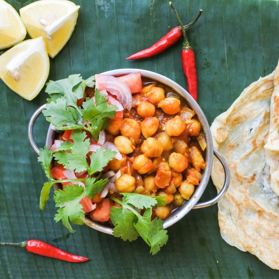 Chana Masala (Worker's Curry)