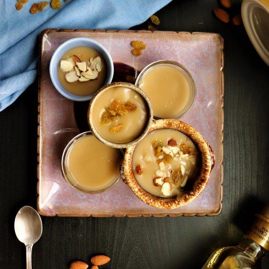 Homemade Vegan Butterscotch Pudding