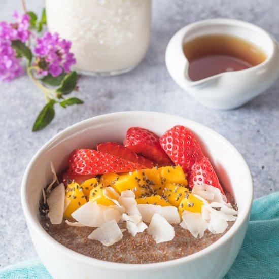 Teff Porridge (Instant Pot)