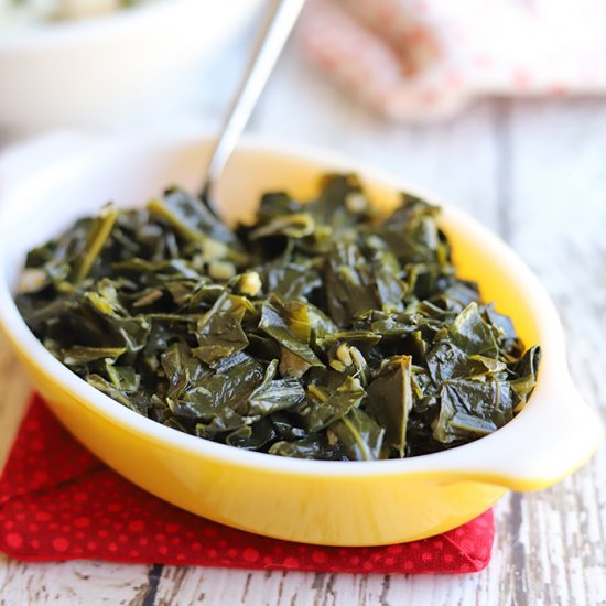 Easy collard greens