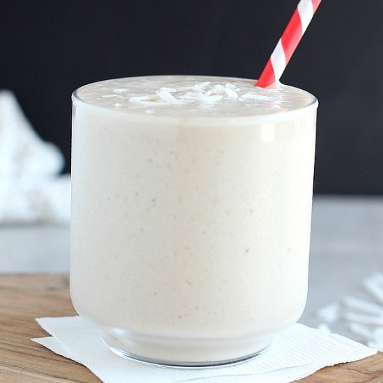 Healthy Vanilla Milkshake