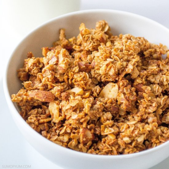 Cinnamon Honey Nut Granola