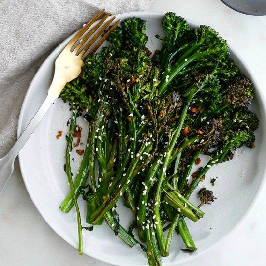 Chili Sesame Sauteed Broccolini