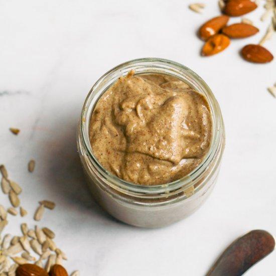 Almond & Sunflower Seed Butter