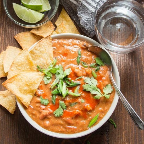 Mexican Pinto Bean Soup