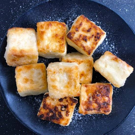 Salty Crispy Tofu