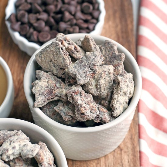 Paleo Nut-Free Muddy Buddies