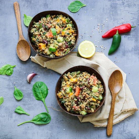 Healthy and Easy Quinoa Salad