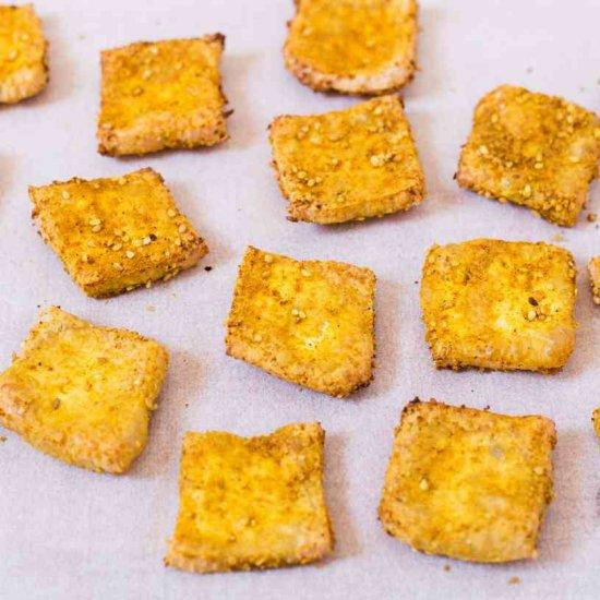 Crispy Baked Tofu | Vegan, Oil-Free