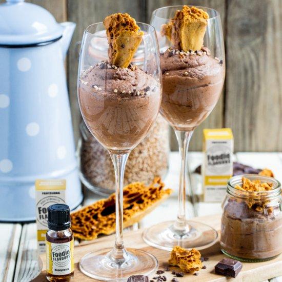 Honeycomb Chocolate Mousse