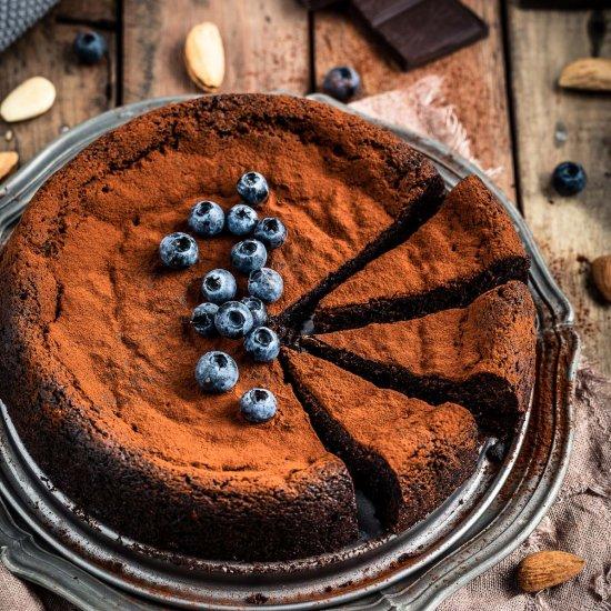 Flourless Vegan Chocolate Cake