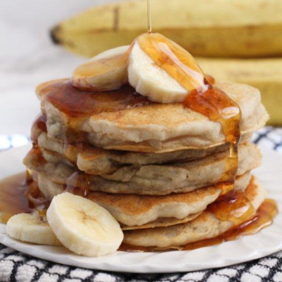 Banana Pancakes (GF, V)