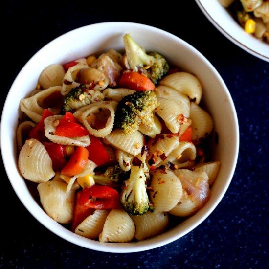 Healthy Vegetable Pasta