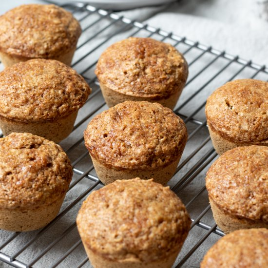 Coconut Garam Masala Muffins
