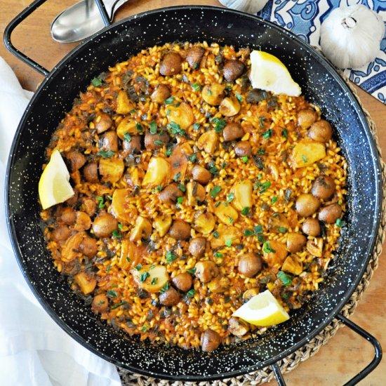 Spanish Vegan Paella
