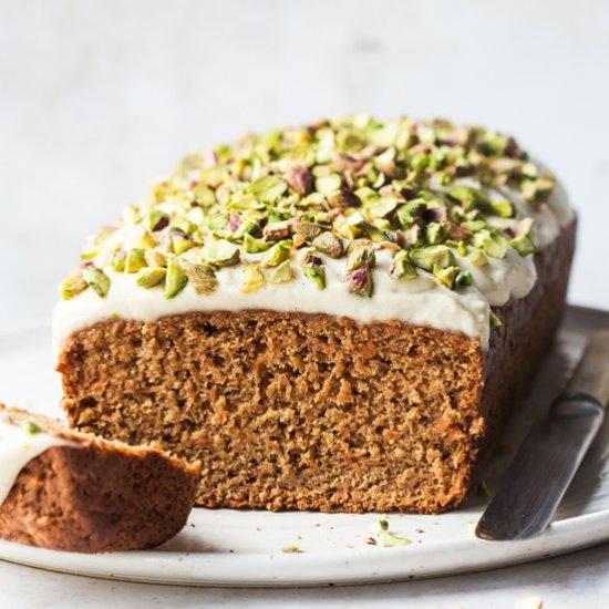 Healthy carrot cake (GF)
