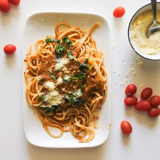 Easy Basil Tomato Sauce