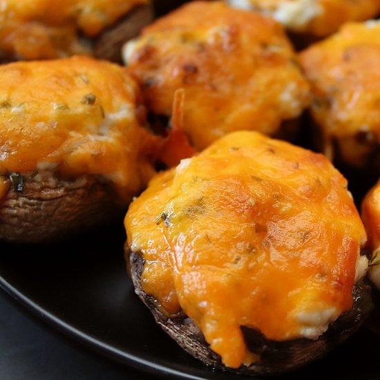 Best Air Fryer - Air Fryer Stuffed Mushrooms