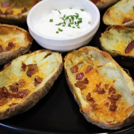 Best Air Fryer - Loaded Air Fryer Potato Skins