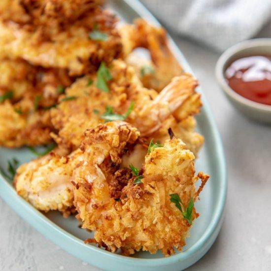 Best Air Fryer - Air Fryer Coconut Shrimp