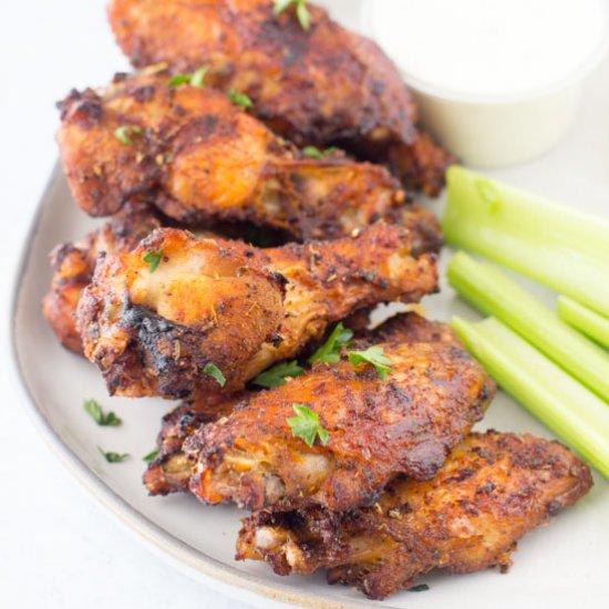 Best Air Fryer - Sweet & Spicy Dry Rub Wings