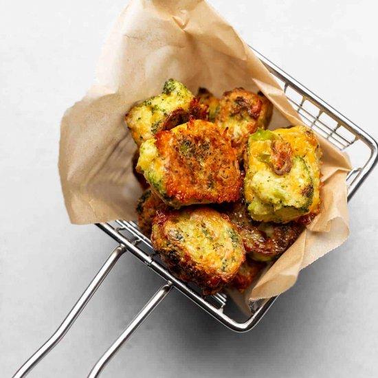 Best Air Fryer - Keto Cheesy Broccoli Tots