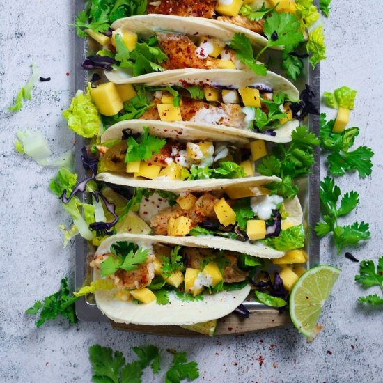 Chilli Lime Fish Tacos