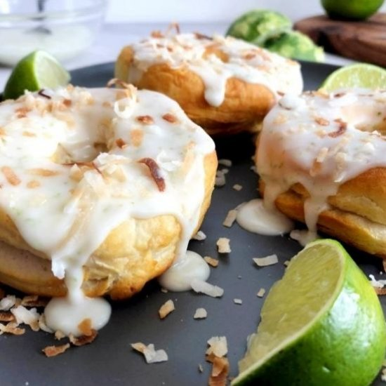Best Air Fryer - Air Fryer Coconut Lime Donuts